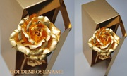 Оригинальный подарок- Золотая Роза