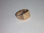 Золотое кольцо (мужское)
