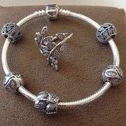 Pandora оригинальный браслет с шармами