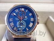 Часы Ulysse Nardin Marine Chronograph - Синие