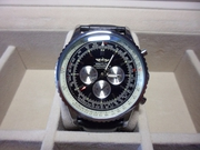 Мужские Часы BREITLING NAVITIMER black (Механика)
