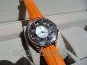 Часы: Chopard Ledi - оранжевые