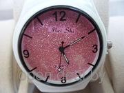 Женские спортивные часы Mei Shi - розовые