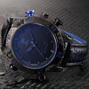Часы Shark Sport Watch мужские черный ремешок.